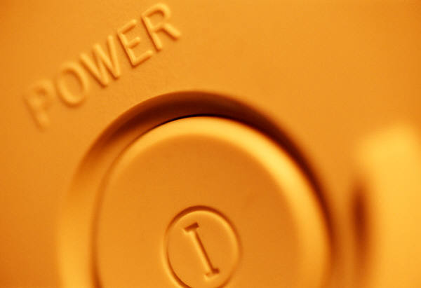 power button, powerful