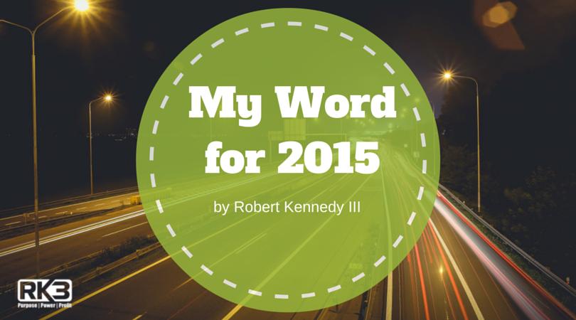 My WordFor 2015