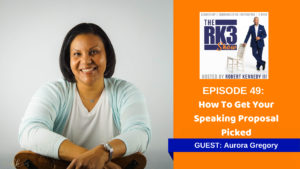 Aurora Gregory - How To Get Your Speaking Proposal Picked
