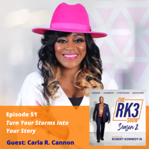 Carla R. Cannon - Turn Your Storms Into Your Story
