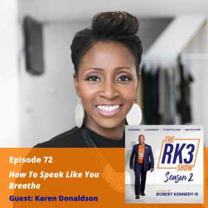 Karen Donaldson - Speak Like You Breathe